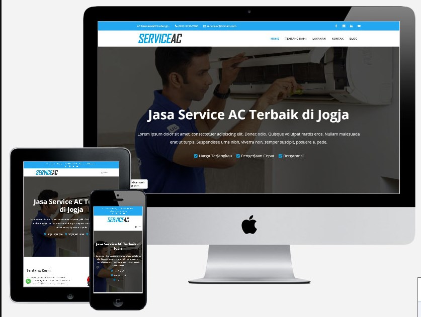Website Jual AC