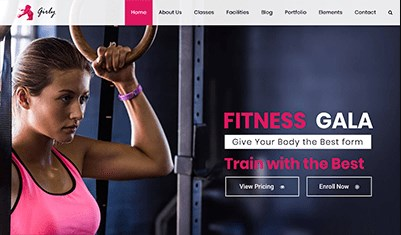 Website Fitness
