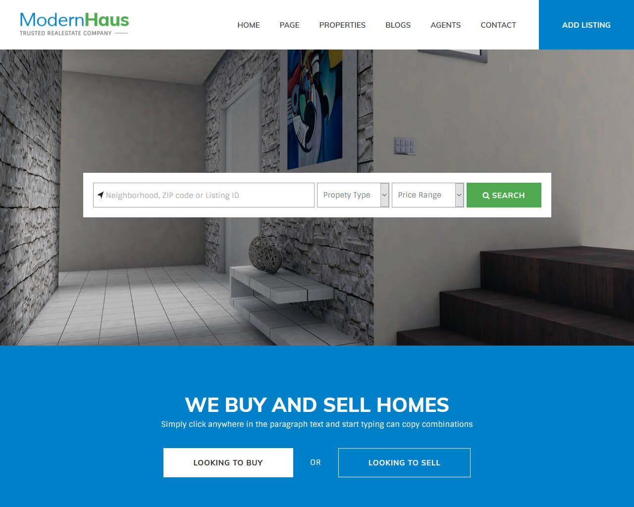 Website Perumahan